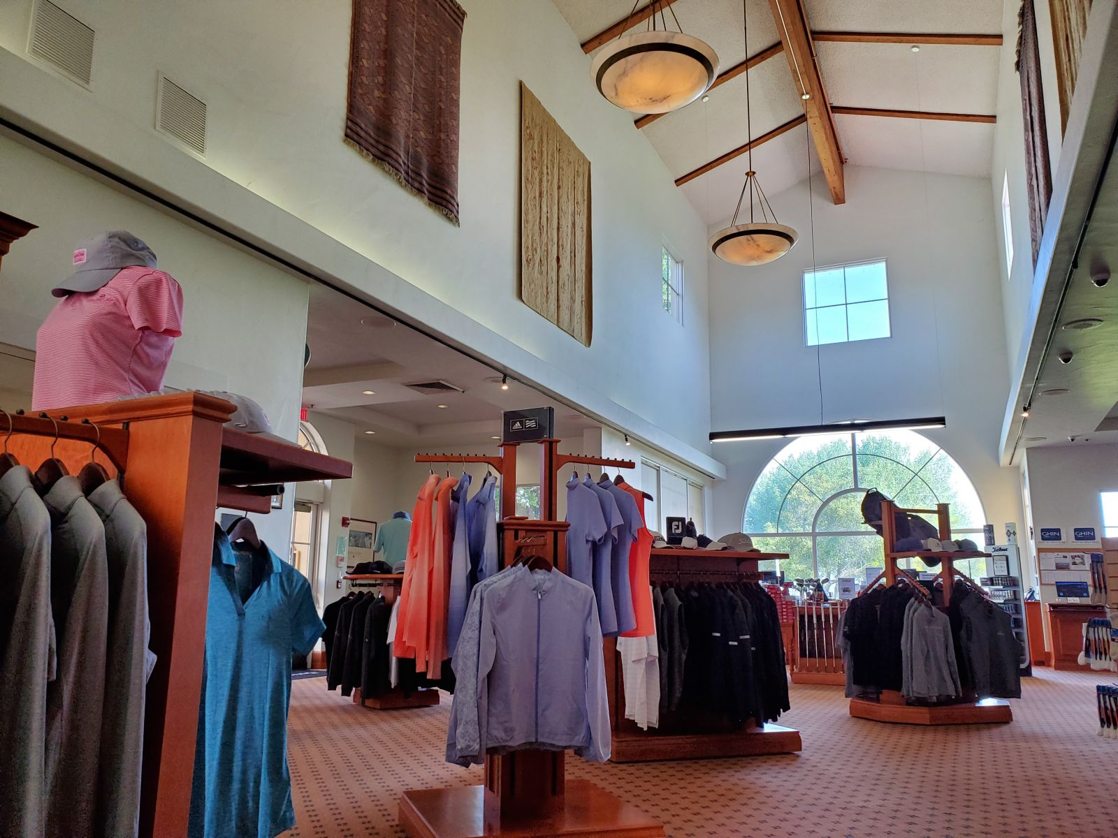 the pro shop at San Juan Oaks